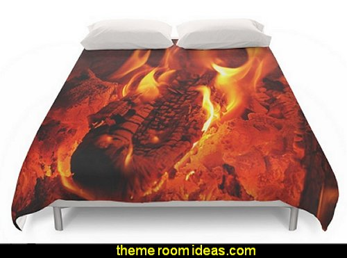 Fire Duvet Covers