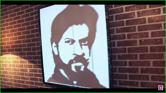 CREATIVE GENIUS ROB'S TRIBUTE TO THE KING OF BOLLYWOOD IS THE EPITOME OF CREATIVITY, WATCH TO KNOW!