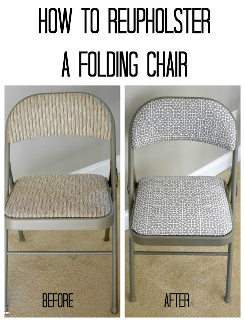 Architecture Of A Mom Reupholstering Folding Chairs With