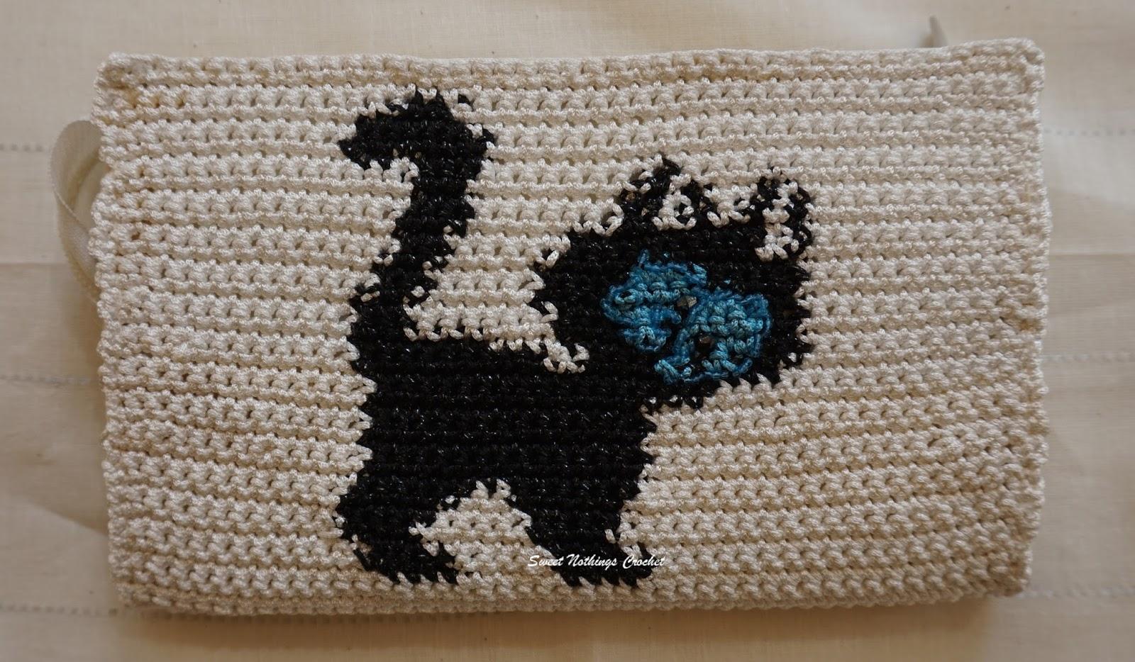 Sweet Nothings Crochet Adorably Cute Cat Wallet