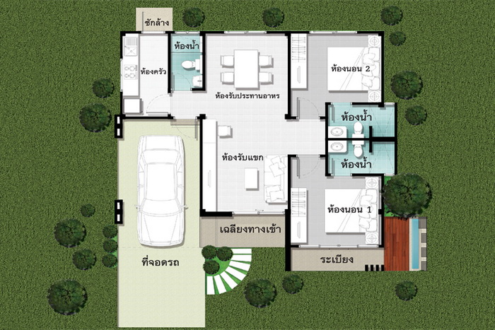 Small modern house design with cost to build for Modern house plans with cost to build