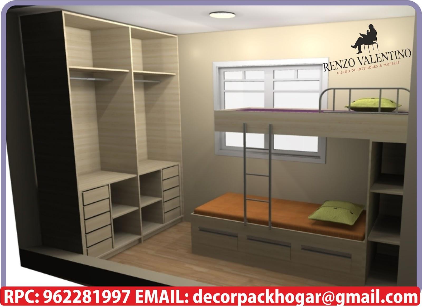Dise os fabricacion de closet cocina y muebles de oficina for Modelos de muebles de melamina