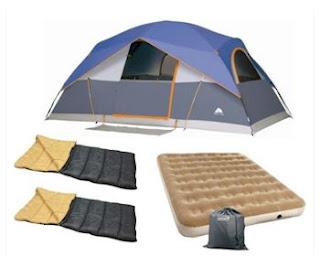Daily Cheapskate Camping Bundle Eight Person Ozark