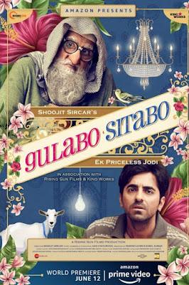 Gulabo Sitabo 2020 Hindi 480p WEB HDRip 350Mb x264