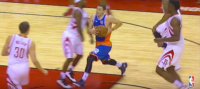 Jimmer Fredette Drops 37 Points for Shanghai Sharks Against Houston Rockets (VIDEO)