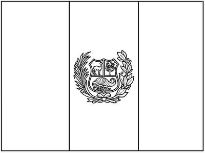 Laminas Para Colorear Coloring Pages Mapa Y Bandera Y