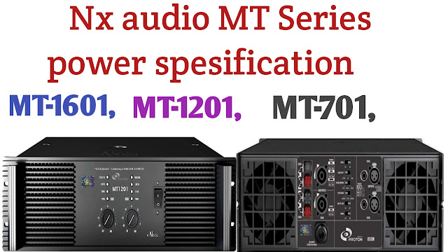 Nx audio MT Series power Amplifier price and specification