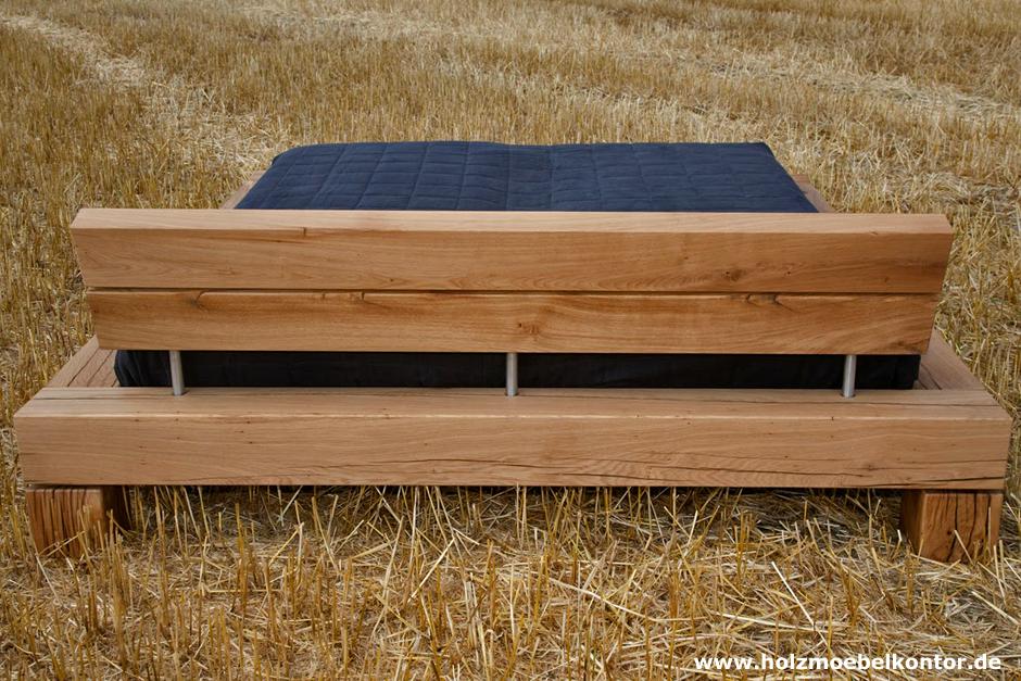 Bett Holzbalken war nett ideen für ihr wohnideen
