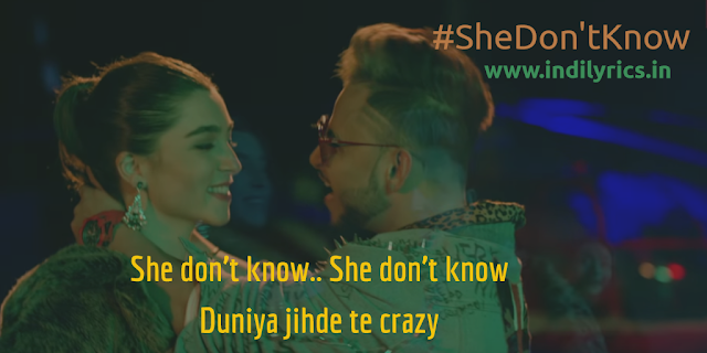 She Don't Know | Milind Gaba | Lyrics | Quotes | Pics | Images