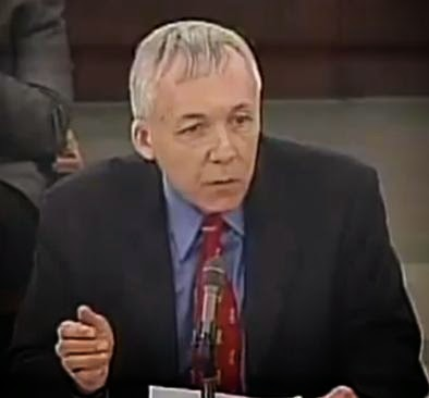 Doug Mainwaring testifying against marriage equality