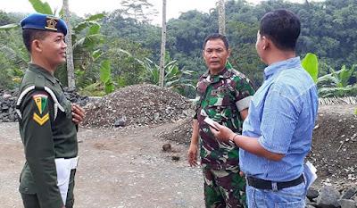 Akan Terlibat Pengamanan,  Anggota Denpom Cek Lokasi TMMD