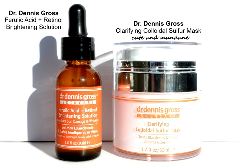 e2a31a438ce Dr. Dennis Gross Skincare review  Ferulic Acid + Retinol Brightening  Solution and Clarifying Colloidal Sulfur Mask