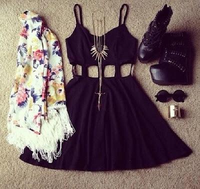 outfit de fiesta hipster