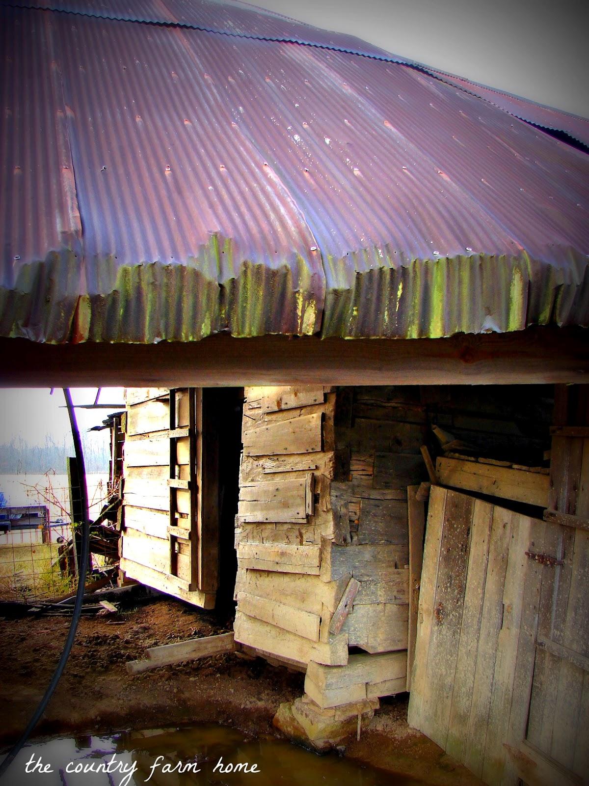 The Country Farm Home Barn Charm Everett Log Barn
