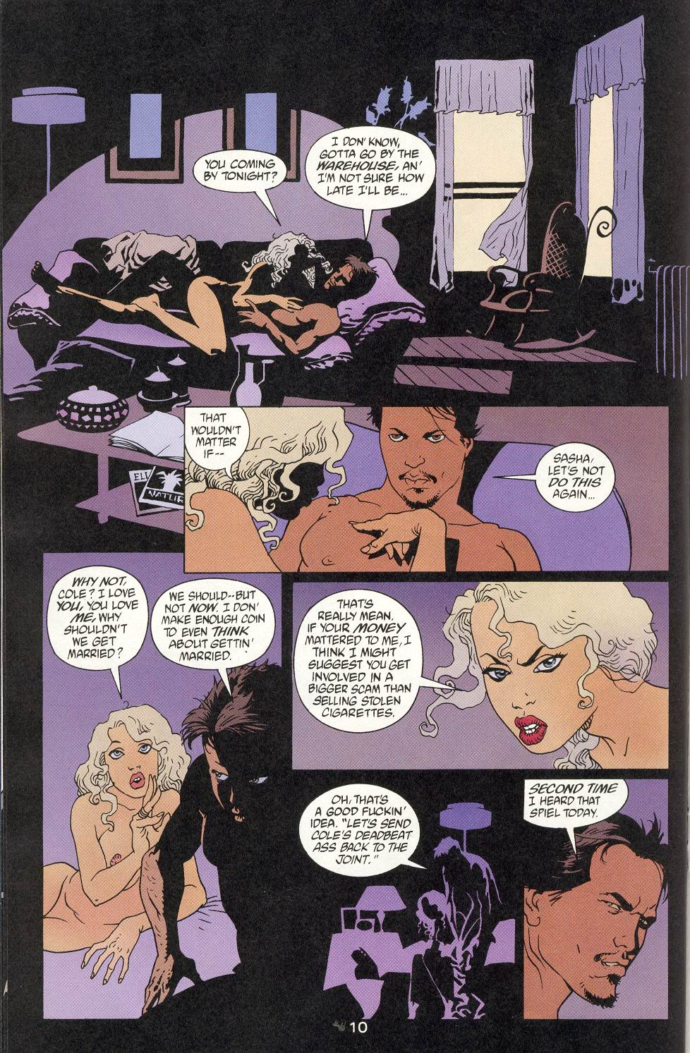 Read online 100 Bullets comic -  Issue #9 - 12