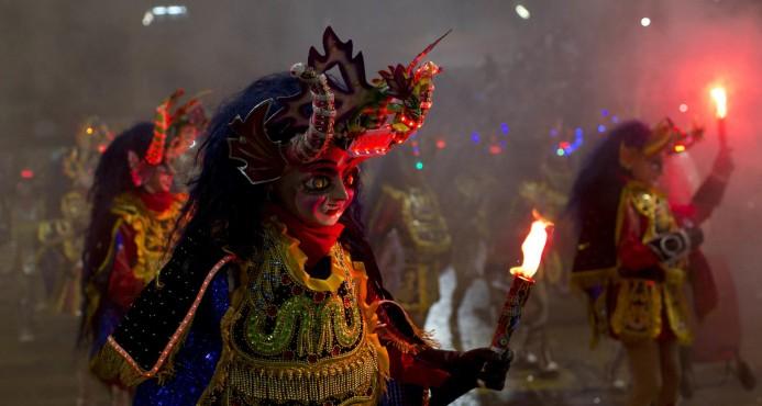 Festejos de carnaval dejan 67 muertos en Bolivia