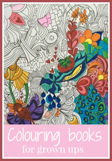 Colouring books for grown ups