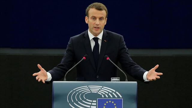 Macron: Habrá 'Guerra civil en Europa' por auge del autoritarismo