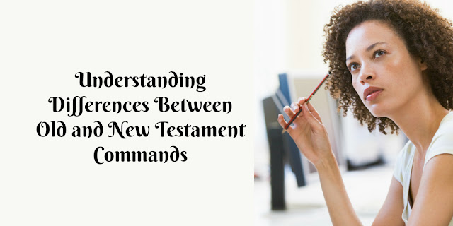 There is so much confusion between Old and New Testament concepts. It's absolutely essential to understand how Old Testament laws impact New Testament believers .#Bible #BibleLoveNotes