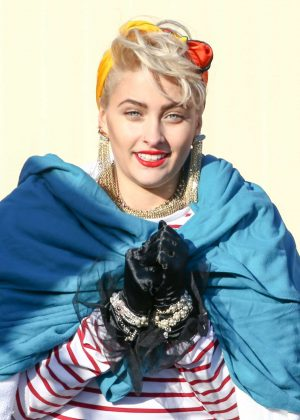 Paris Jackson lovely pictures Madonna
