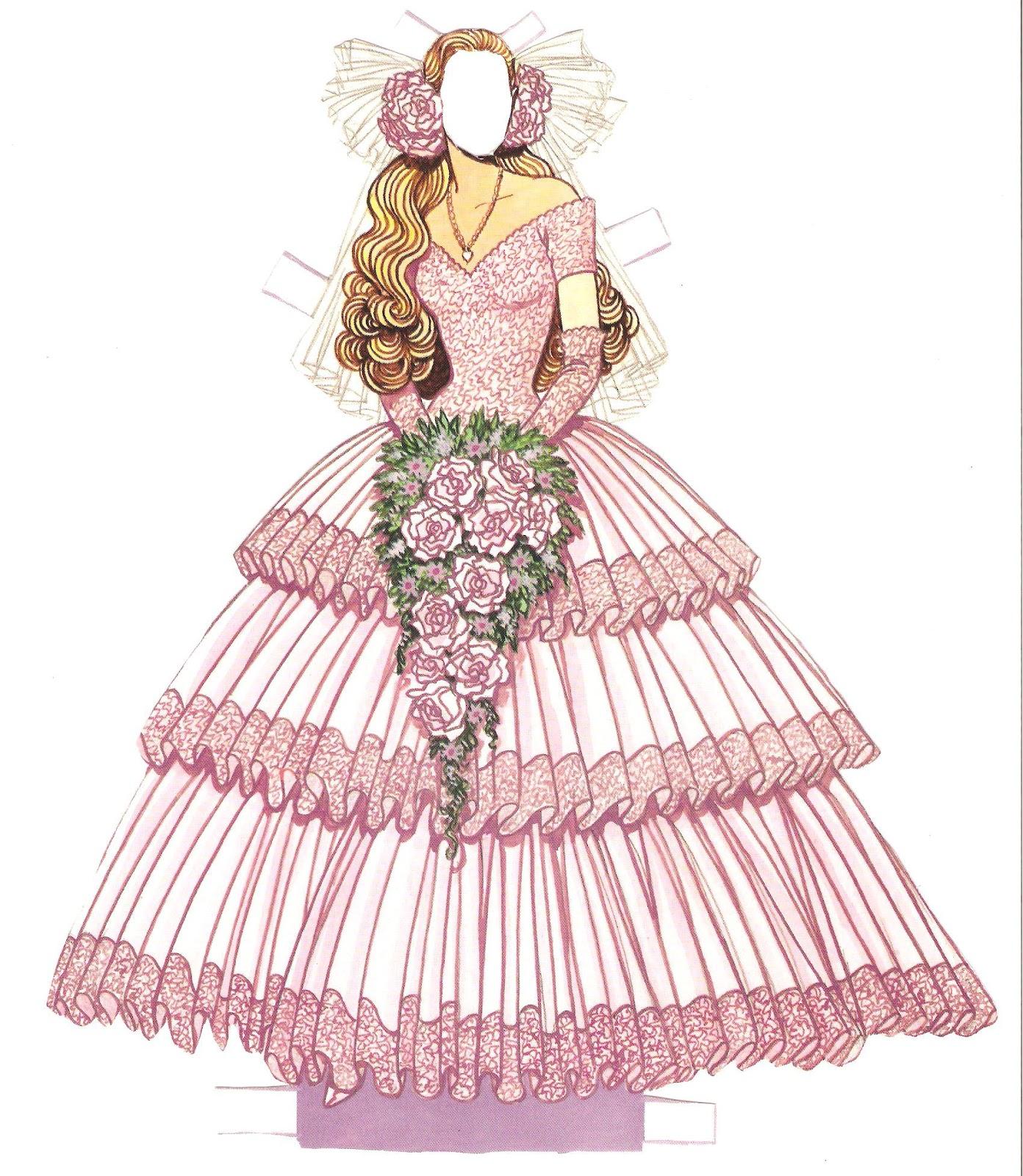 Miss Missy Paper Dolls: Wedding Fashion Paper Doll