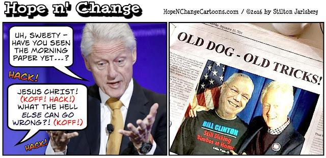 obama, obama jokes, political, humor, cartoon, conservative, hope n' change, hope and change, stilton jarlsberg, clintons, powell, dicking bimbos, email