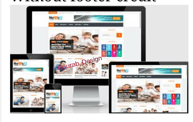 News 52 responsive newspaper magazine blogger template