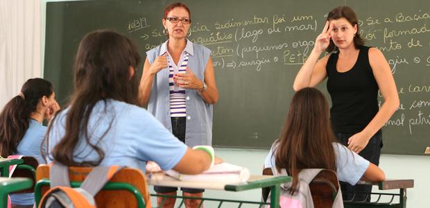A deficiência auditiva em sala de aula