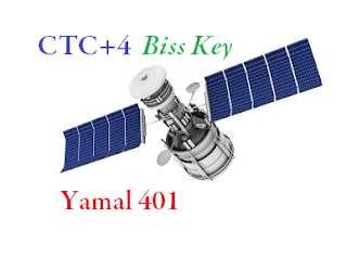 CTC+4 Biss Key On 90.0°E Yamal 401