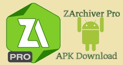 ZArchiver Pro Apk Donate Android Arm + Arm64 + X86