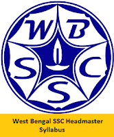 West Bengal SSC Headmaster Syllabus