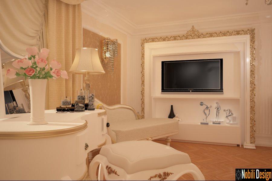 Design interior dormitor clasic Timisoara - Amenajari interioare case vile clasice