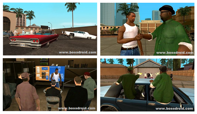Download Grand theft auto (GTA) Lite San Andreas v1.0.8 APK DATA