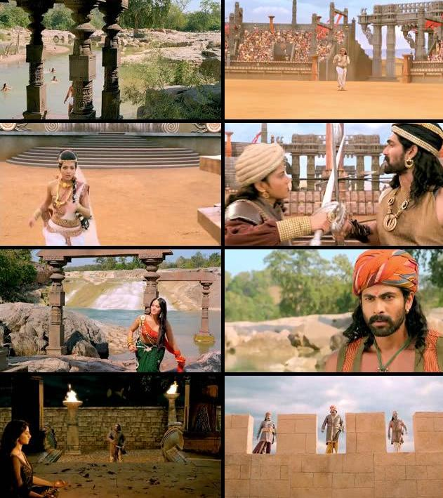 Rudhramadevi 2015 Daul Audio Hindi 480p HDRip
