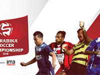 Jadwal Lengkap Torabika Soccer Championship 2016
