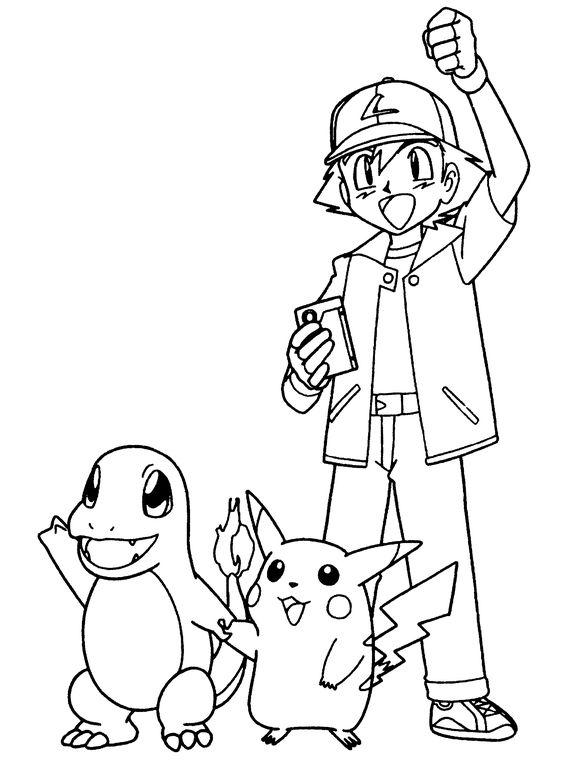 Tranh tô màu Pokemon 7