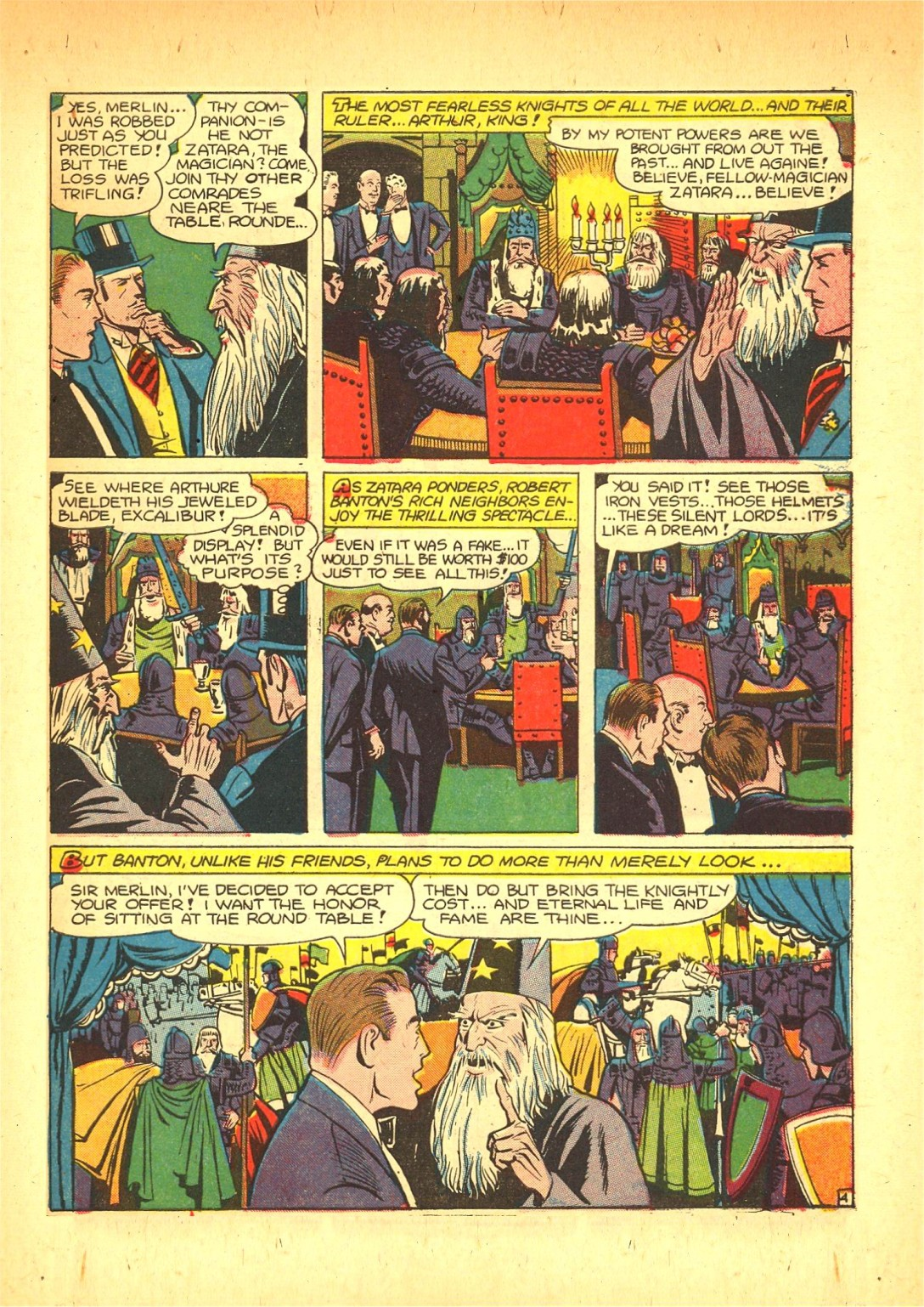 Read online Action Comics (1938) comic -  Issue #72 - 52