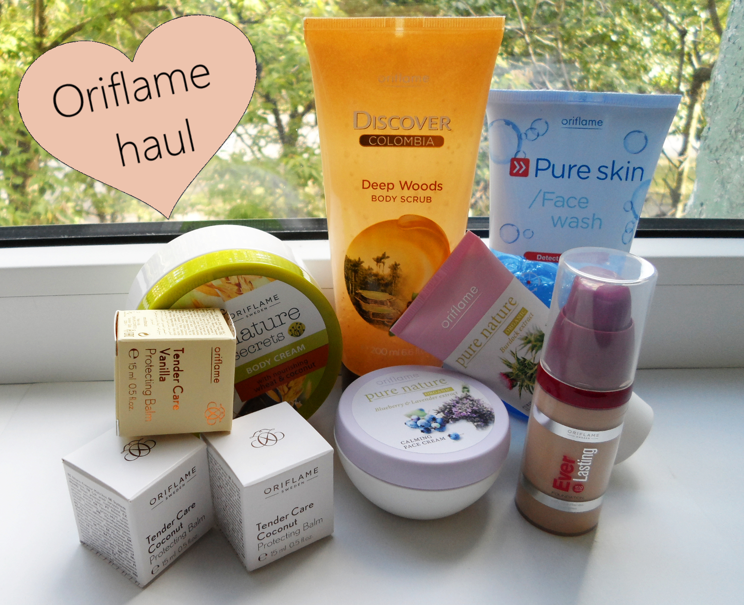 oriflame beauty haul, oriflame cosmetics review, beauty buys