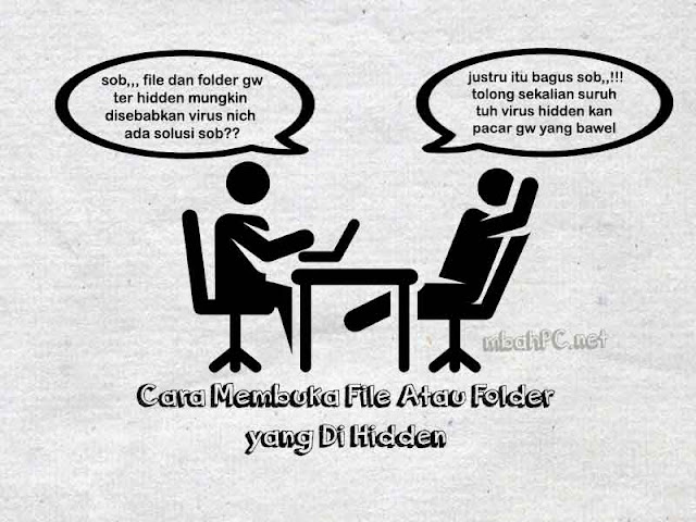 Cara Membuka File Atau Folder Yang Di Hidden Pada Laptop