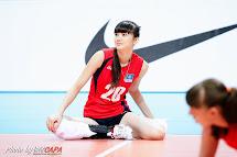 Kazakhstan Volleyball Player Sabina