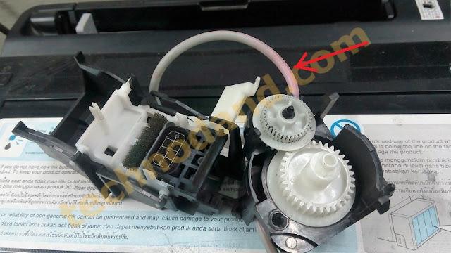 mekanik pompa pembuangan printer epson L100-T13-ME32