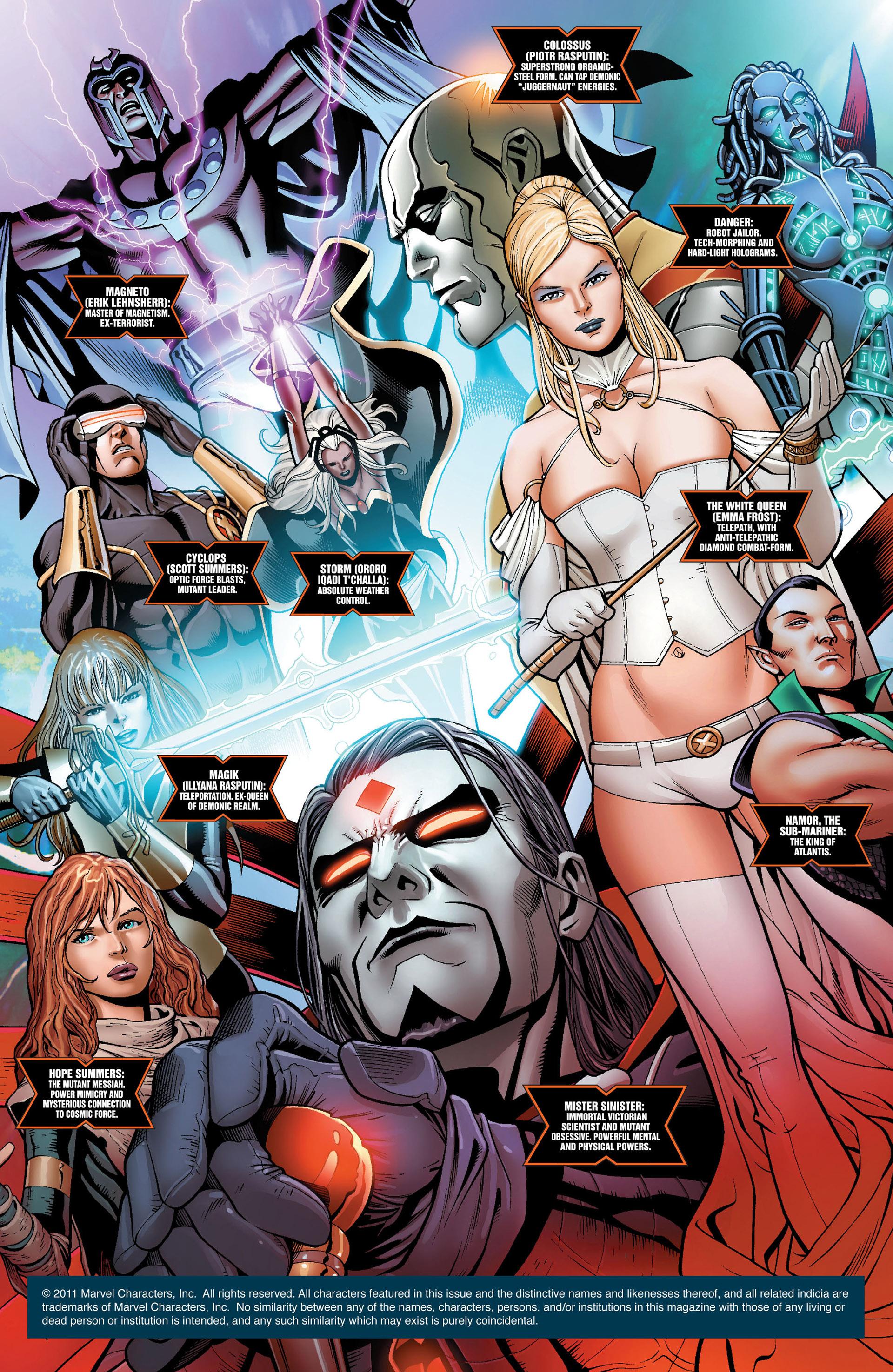Read online Uncanny X-Men (2012) comic -  Issue #1 - 2