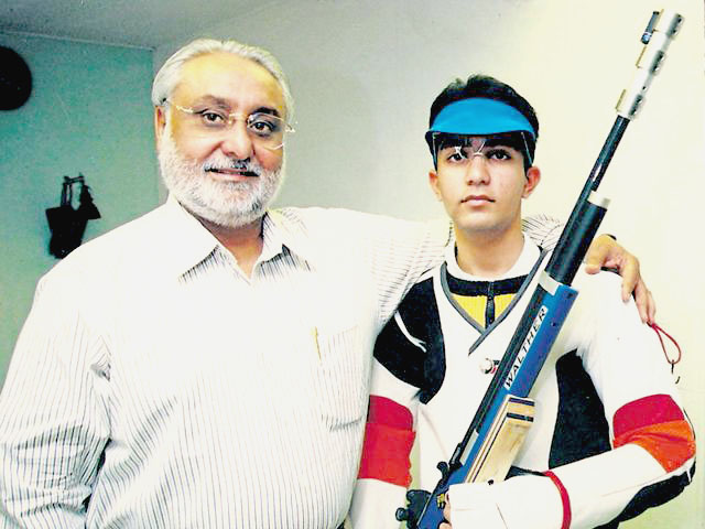 Shooter Abhinav Bindra