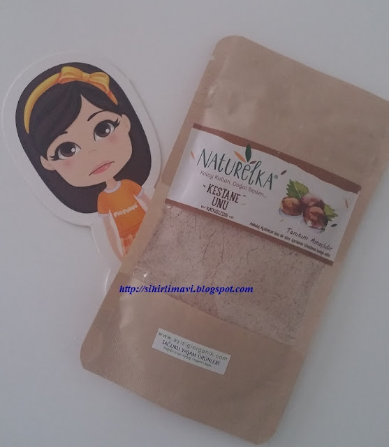 kestane unu, puding, blog, blogger, ayisigi organik, naturelka powders