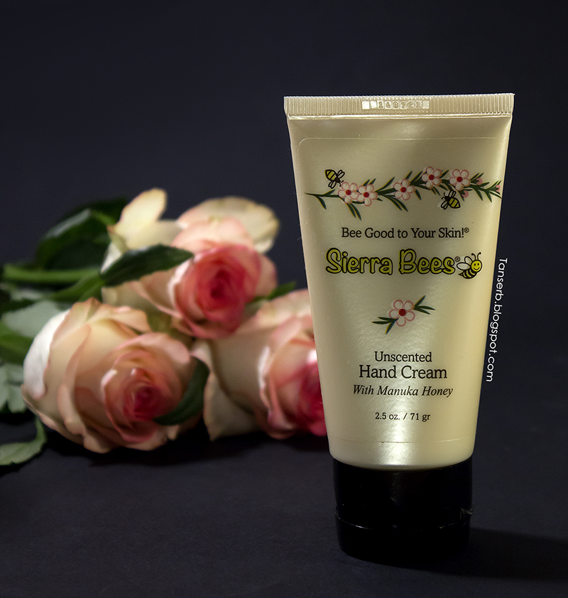 Sierra Bees Unscented Hand Cream with Manuka Honey