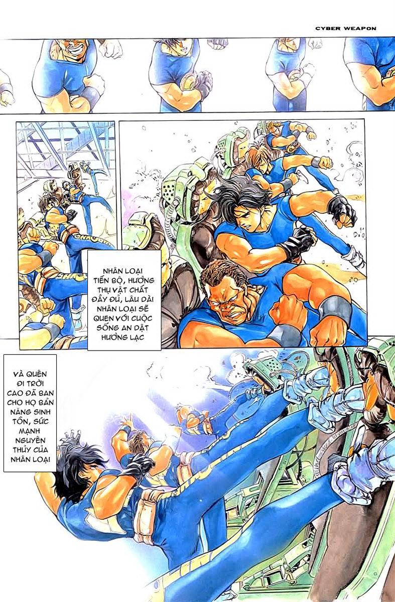 Cyber Weapon Z - Siêu Thần Z chap 2 - Trang 18