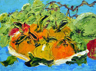 http://www.ebay.com/itm/Small-Leafy-Oranges-Acrylic-Painting-Board-Contemporary-Artist-France-2000-Now-/291764662399?ssPageName=STRK:MESE:IT