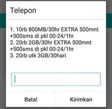 gambar cara daftar paket internet murah telkomsel terbaru