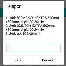 Internetan Murah Kartu Telkomsel Terbaru 20 Ribu 3 GB
