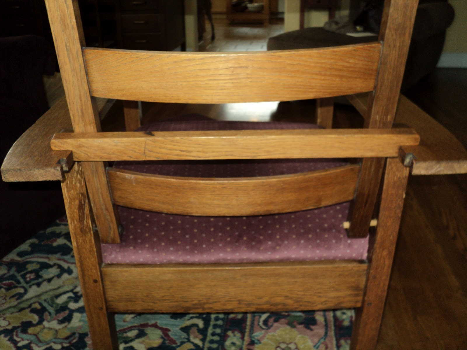 Morris Chairs For Sale Comfortable Reading Nice Today Chair Marked 830 Original Finish